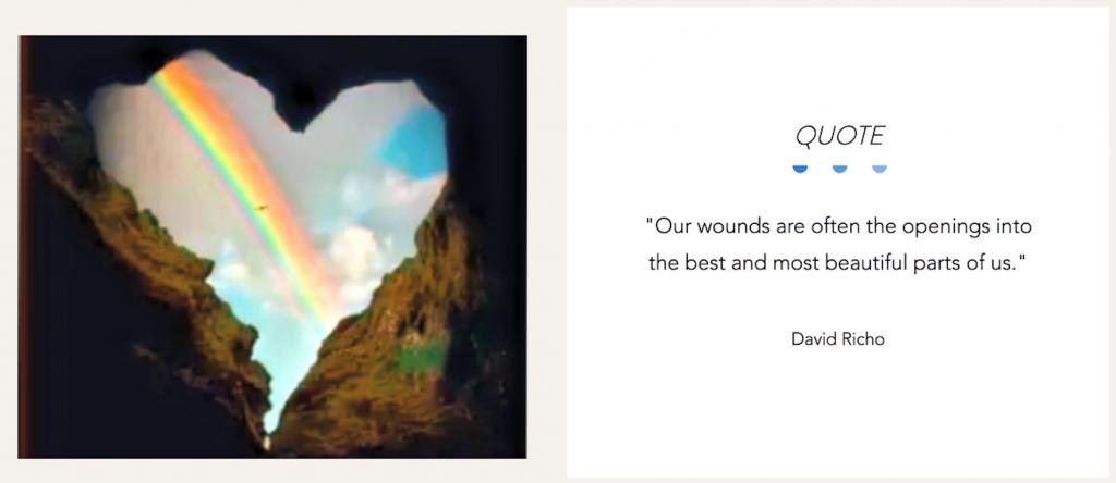 Quote healing
